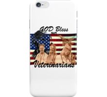 God Bless Our Vets - ONE:Print iPhone Case/Skin