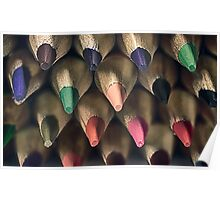 Colored Pencil Tips Poster