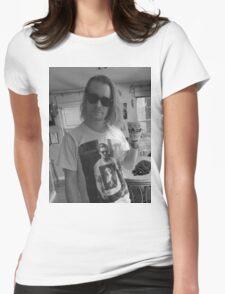 Macaulay Culkin Wearing Gosling Wearing Self Womens Fitted T-Shirt