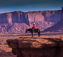 Monument Valley Marlboro Man by Chris Kiez