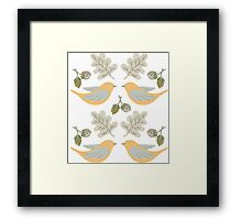 forest birds Framed Print