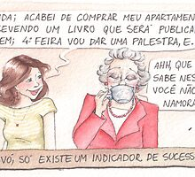 Comic - Grandmother (in Portuguese) by meninanaopode