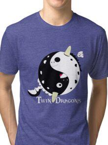Yin Yang Dragon Tri-blend T-Shirt