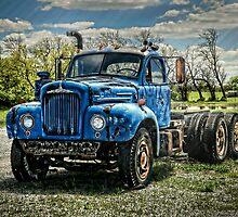 Mack B-61 Thermodyne Semi Tractor Truck by Ken Smith
