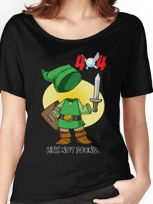 404 Link Not Found Women's Relaxed Fit T-Shirt