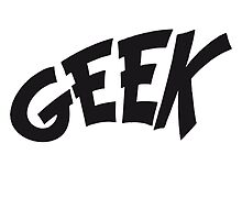 Geek comic cartoon logo by Style-O-Mat