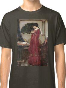 John William Waterhouse - The Crystal Ball . Woman portrait: sensual woman, girly art, female style, pretty women, femine, beautiful dress, cute, creativity, love, sexy lady Classic T-Shirt