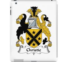 Christie Coat of Arms / Christie Family Crest iPad Case/Skin