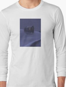 Snowy Barn Long Sleeve T-Shirt