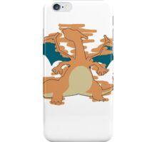Charizard Tshirt iPhone Case/Skin