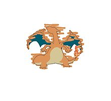 Charizard Tshirt Photographic Print