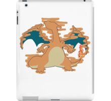 Charizard Tshirt iPad Case/Skin