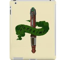 Geronimo Sonic Screwdriver iPad Case/Skin