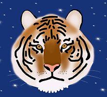 Tiger Face by TLCampbell