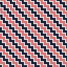 Diagonal Chevron  by thetangofox