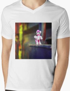 pony Mens V-Neck T-Shirt