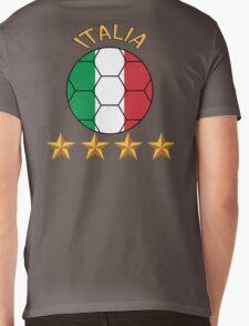 italia Mens V-Neck T-Shirt