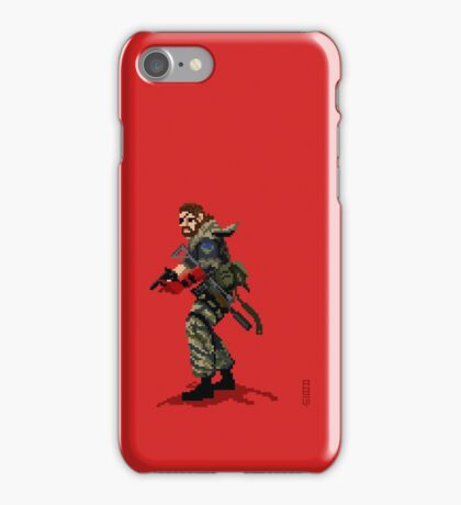 Venom Snake - Metal Gear Solid 5 iPhone Case/Skin