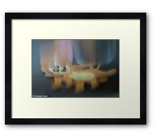 Jerry Falling Framed Print