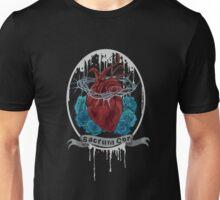 Sacred black heart Unisex T-Shirt