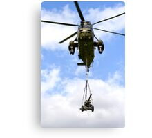 Royal Navy Westland Sea King HC.4 Helicopter Canvas Print