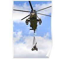 Royal Navy Westland Sea King HC.4 Helicopter Poster