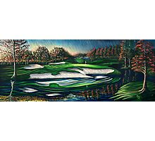 Arnold Palmer's Bay Hill Club 17 Hole Photographic Print