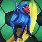 Rodney - The Tiny Blue Monkey by Adam Campbell