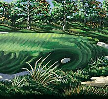 Pine Valley 10th Hole by brewArt