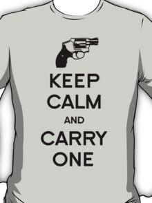 Keep Calm - Carry One T-Shirt
