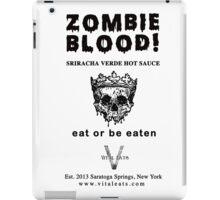 Zombie Blood - Sriracha Verde Hot Sauce iPad Case/Skin