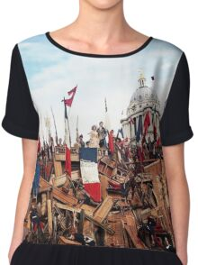Les Miserables Chiffon Top