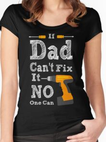 If Dad cant Fix it 2 Women's Fitted Scoop T-Shirt