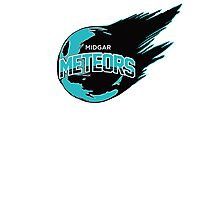Midgar Meteors (Turquoise) Photographic Print