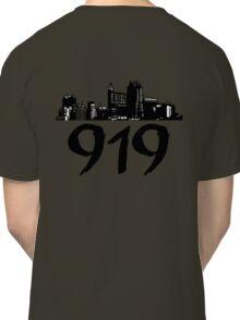 Raleigh - 919 (Black Logo) Classic T-Shirt