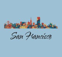 San Francisco Skyline by T-ShirtsGifts