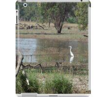 Bird in Flood Water iPad Case/Skin