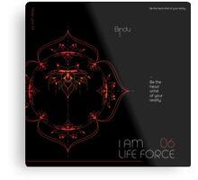 I AM LIFE FORCE Metal Print