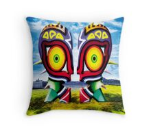 The Majora Bell (Print Version) Throw Pillow