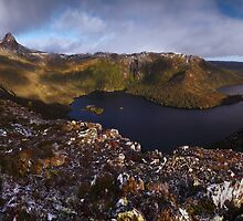 Contemplative Cradle - Cradle Mountain N.P. by Mark Shean