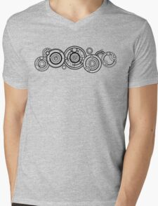 Doctor Who - The Doctor's name in Gallifreyan #1 Mens V-Neck T-Shirt