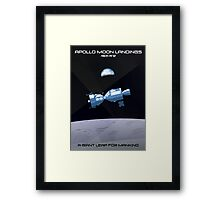 Moon Landings Framed Print