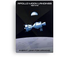 Moon Landings Canvas Print