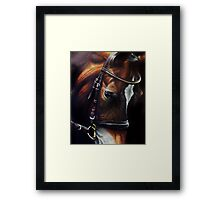Horse and Tack Framed Print