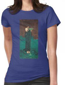 John William Waterhouse - Circe Invidiosa 1892. Woman portrait: sensual woman, girly art, female style, pretty women, femine, beautiful dress, cute, creativity, love, sexy lady Womens Fitted T-Shirt