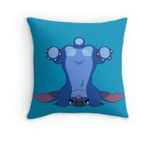 Stitch's Butt Throw Pillow