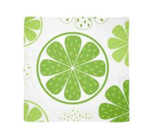 Light and fresh green limette pattern or texture Scarf