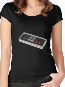 Classic Game Controller - NES Nostalgia Women's Fitted Scoop T-Shirt