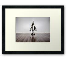 Evil Robot! Framed Print