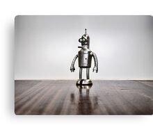 Evil Robot! Canvas Print